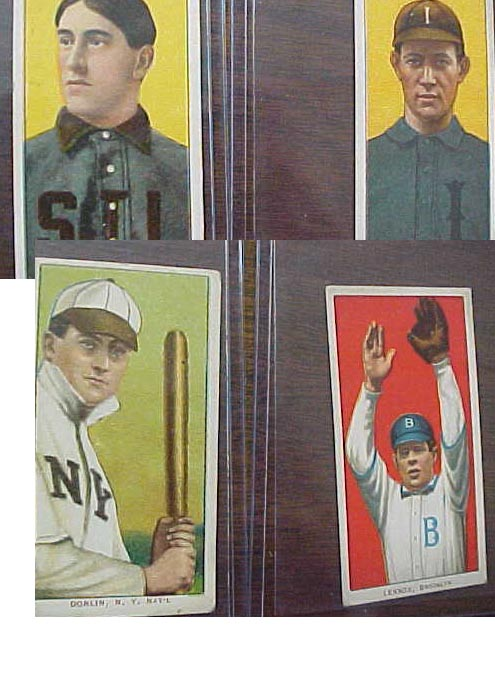 Coach 39 s corner 15 1909 t206 baseball cards in nice for Corner lots more valuable