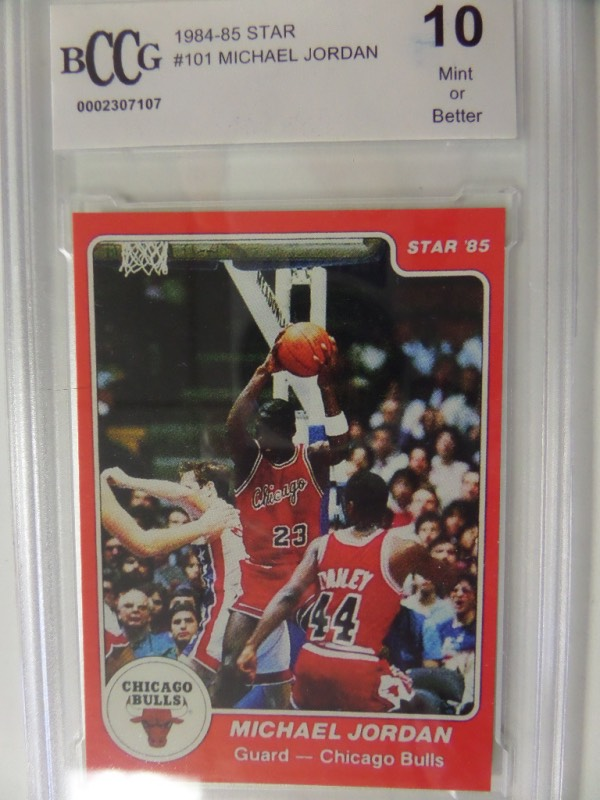 This Guaranteed Real Card Comes Slabbed And Graded By BCCG Shows Mike In Action On