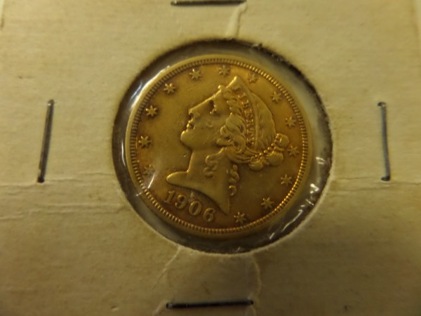 This US $5 GOLD Liberty Head coin is in Super condition, and should grade in the low-mid MS60's. Look at picture and grade for yourself, and if need more pics just ask. Gorgeous coin valued in the $450 range, and tough to find in this condition..